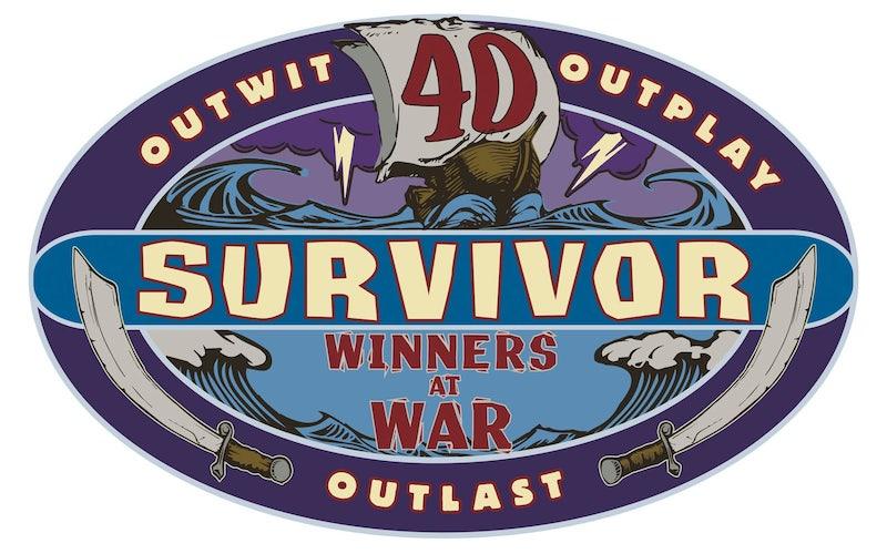 Survivor 40 Winners at War logo