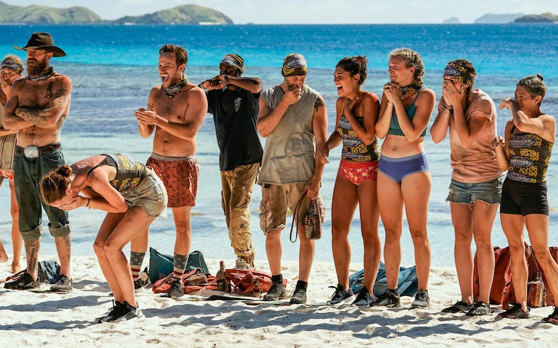Survivor winners' war paused for family visits, then fast-forwards into an insane Tribal Council