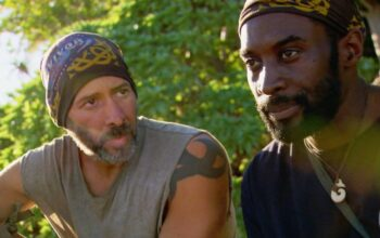 Tony Vlachos and Jeremy Collins on Survivor: Winners at War episode 11