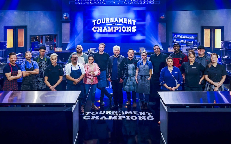 The chef contestants of Tournament of Champions season 1