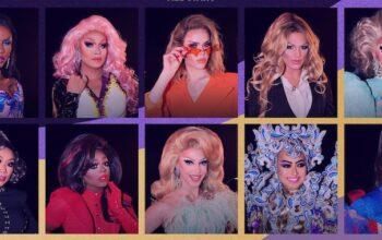 The cast of RuPaul's Drag Race All Stars season 5