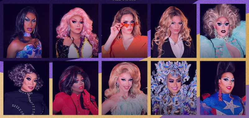Drag Race All Stars 5's queens, who are moving back to VH1 from Showtime