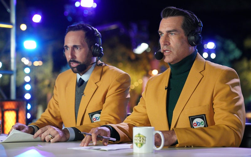 Joe Tessitore and Rob Riggle are back as hosts and commentators on Holey Moley season 2