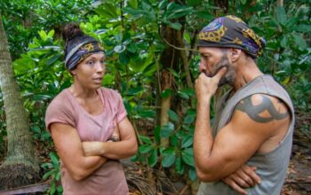 Sarah Lacina and Tony Vlachos on Survivor: Winners at War's penultimate episode
