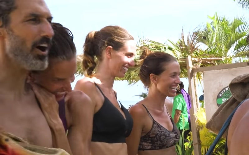 Survivor: Winners at War's jury arrives at Ponderosa and see themselves in the mirror for the first time