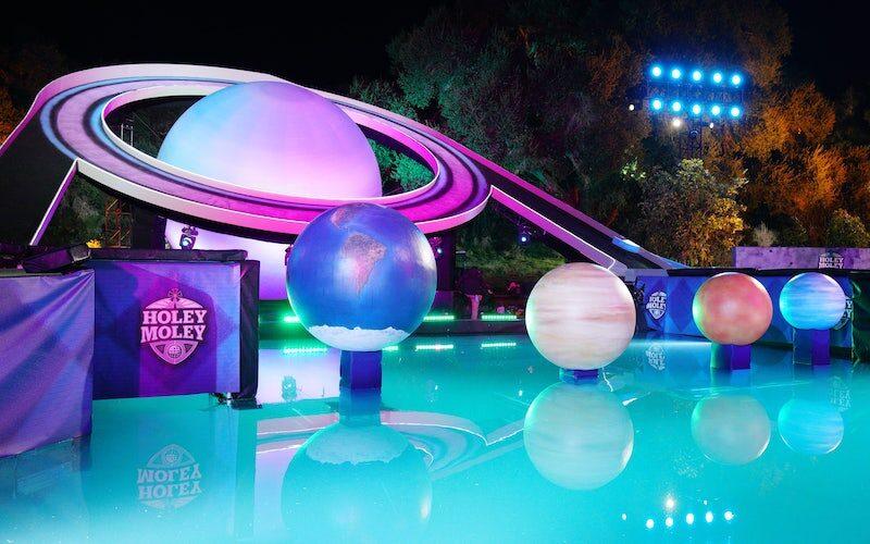 Uranus, a new hole on Holey Moley season 2