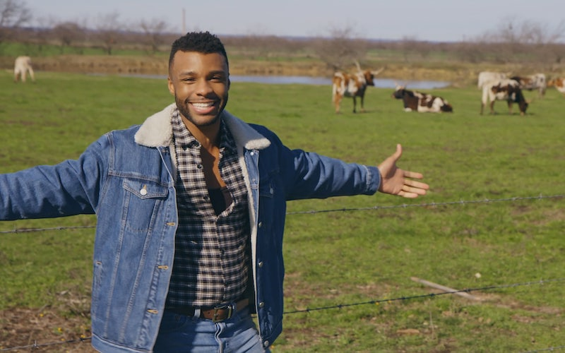 Pose's Dyllón Burnside on PBS's Prideland, on which he travels around the south to explore the lives of LGBTQ+ Americans