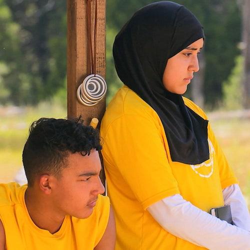 Karma's yellow team, Eli and Illya