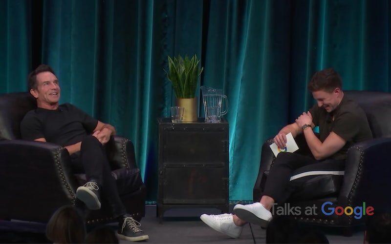Jeff Probst is interviewed by Dean Kowalski at Google.
