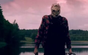 The mysterious killer in the trailer for The CW's Killer Camp, which aired on ITV2 last fall.