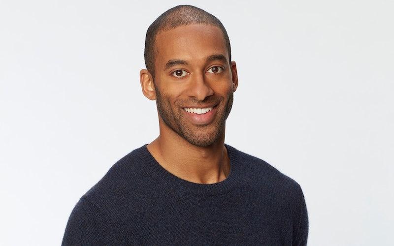 Bachelor 25 is Matt James, the show's first black star