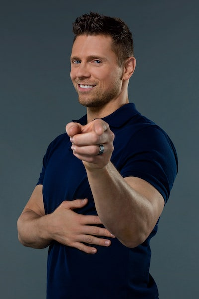 """The WWE's Mike """"The Miz"""" Mizanin has come a long way from The Real World, as he's hosting Cannonball along with Rocsi Diaz"""