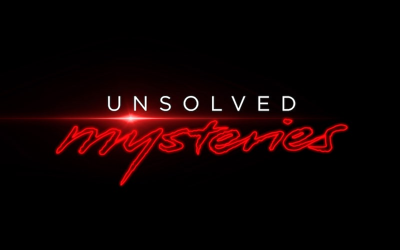 Unsolved Mysteries on Netflix