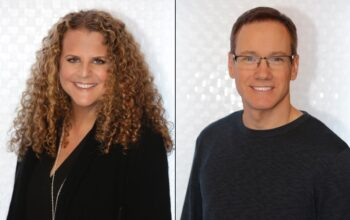 Big Brother executive producers Allison Godner and Rich Meehan, photographed separately during 2018 for Big Brother's first celebrity season