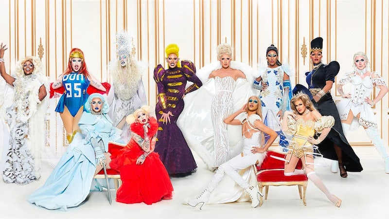 Canada's Drag Race season 1's contestants, in drag
