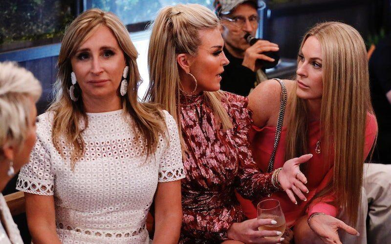 Dorinda Medley, Sonja Morgan, Tinsley Mortimer, and Leah McSweeney on RHONY season 12