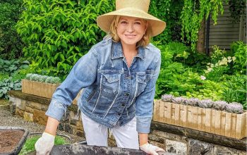 Martha Stewart and her large hat star in a new HGTV series, Martha Knows Best