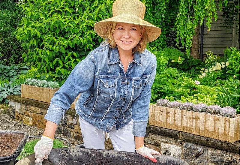 Martha Stewart and her large hat star in a new HGTV series, Martha Knows Best