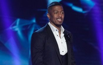Nick Cannon during The Masked Singer season 3.