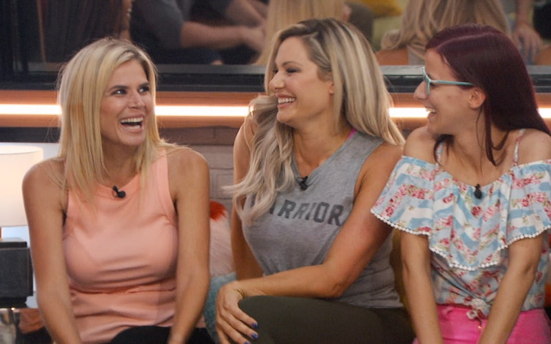 Keesha Smith, Janelle Pierzina, and Nicole Anthony on the premiere of Big Brother 22