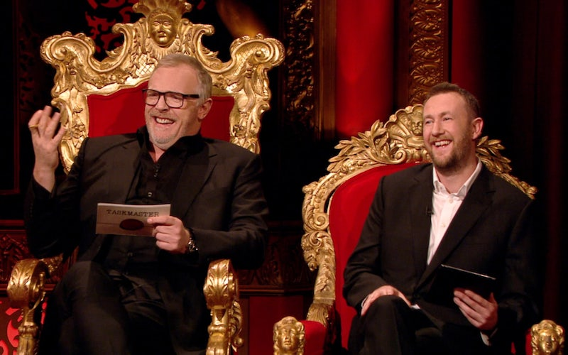 Taskmaster's Greg Davies and Alex Horne