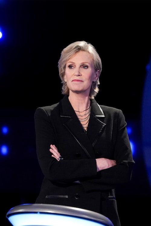 Jane Lynch, host of The Weakest Link