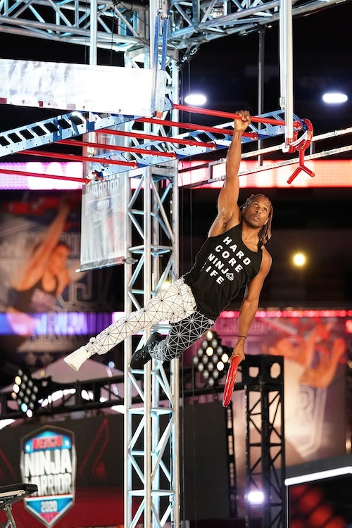 Julius Ferguson, one of Drew Drechsel's teammates on American Ninja Warrior season 12