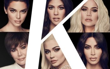 Keeping Up with the Kardashians main cast, in an image used for season 16
