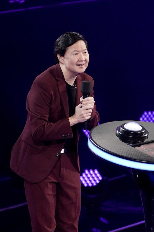 Ken Jeong, host of Fox's I Can See Your Voice