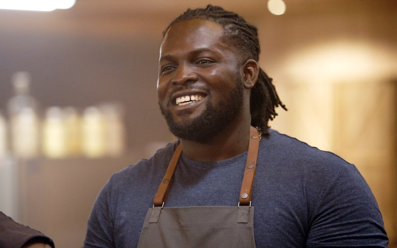 Rasheed Philips, a contestant on The American Barbecue Showdown