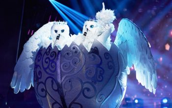 The Snow Owls perform on The Masked Singer season 4's premiere