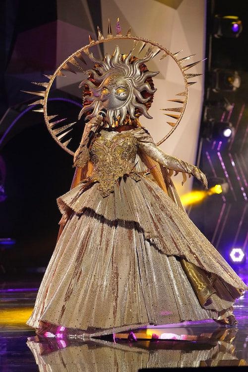 Sun sings on The Masked Singer season 4's premiere