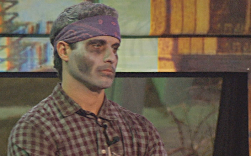 Big Brother 22 winner Cody Calafiore, in zombie makeup because this season was dead on arrival