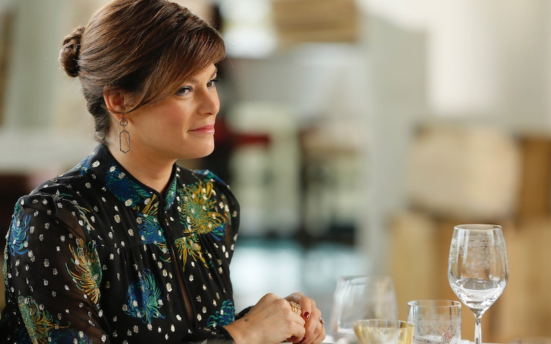 Gail Simmons, host of Top Chef Amateurs, the fifth spin-off in the Top Chef franchise, pictured here during Top Chef season 17's finale
