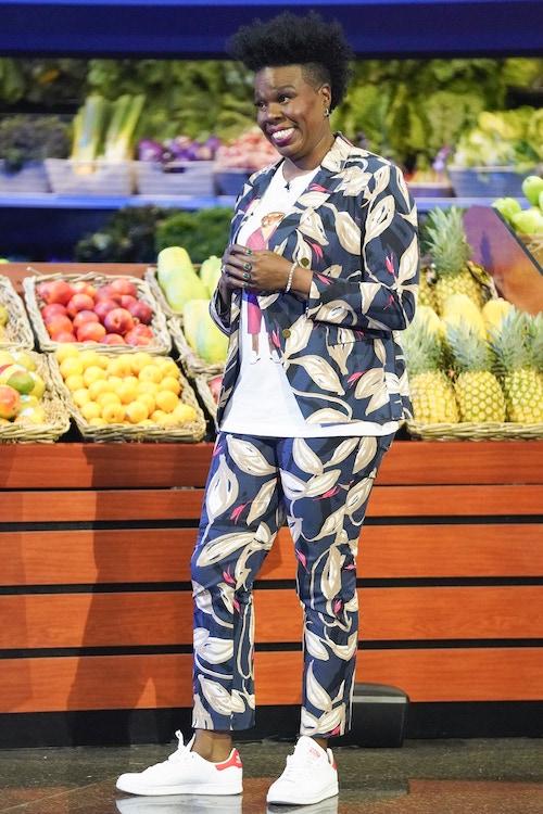 Supermarket Sweep host and executive producer Leslie Jones
