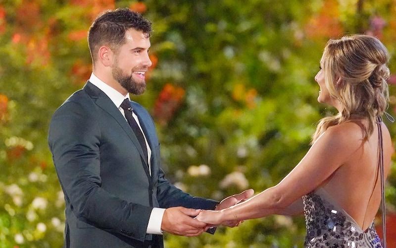Blake Moynes meets Clare Crawley on the season premiere of The Bachelorette season 16