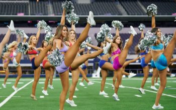 Dallas Cowboys Cheerleadings: Making the Team season 14 hopefuls perform a routine