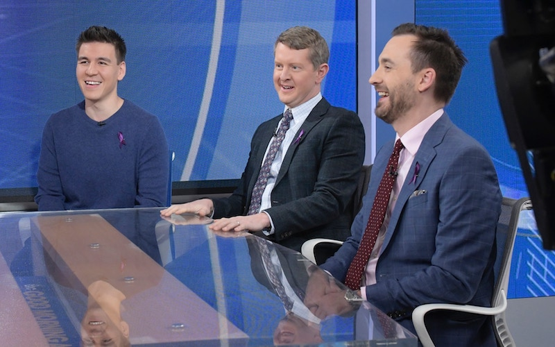 ABC's Chase will star Ken Jennings, James Holzhauer, and Brad Rutter