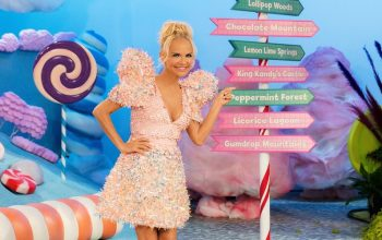 Kristen Chenweth, host of Candy Land