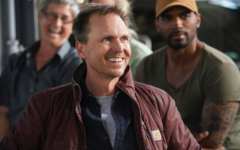 Phil Keoghan during Tough as Nails season 1's finale