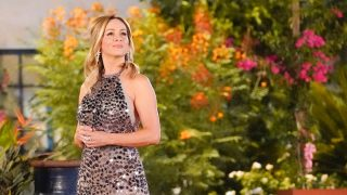 Clare Crawley looking off into the distance on The Bachelorette 16 episode 1.