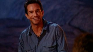 Jeff Probst at Survivor: The Australian Outback's first Tribal Council
