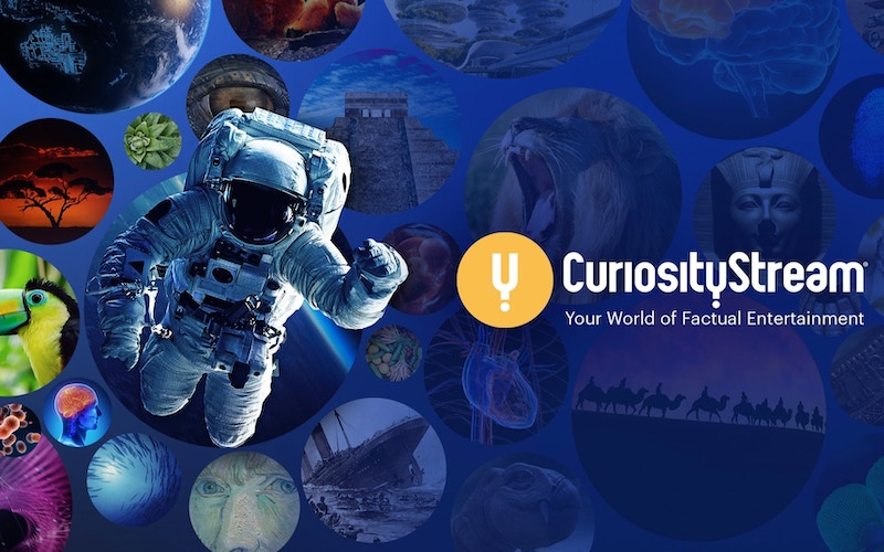 "CuriosityStream's tagline calls it ""Your World of Factual Entertainment"""