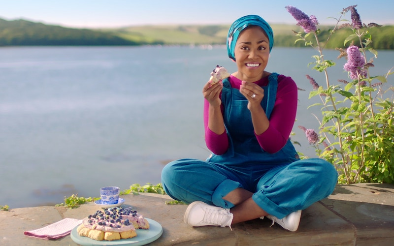 Great British Bake-Off winner Nadiya Hussain in her new BBC and Netflix cooking show