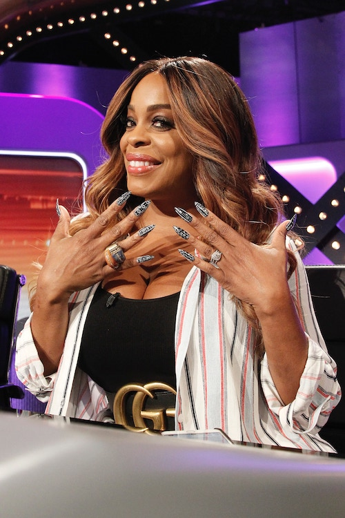 Niecy Nash on the Feb. 13, 2019, episode of Match Game.