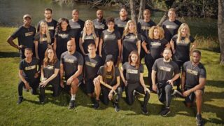 The Challenge: All-Stars contestants, all of whom were cast members on earlier seasons of The Real World and Road Rules—and The Challenge
