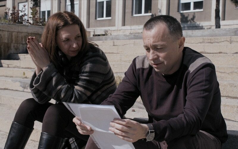 A scene from the documentary Collective