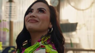 Demi Lovato in the trailer for her YouTube documentary series Demi Lovato: Dancing with the Devil