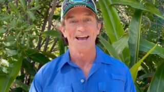 Jeff Probst in a video he posted to social media announcing the start of production of Survivor season 41.
