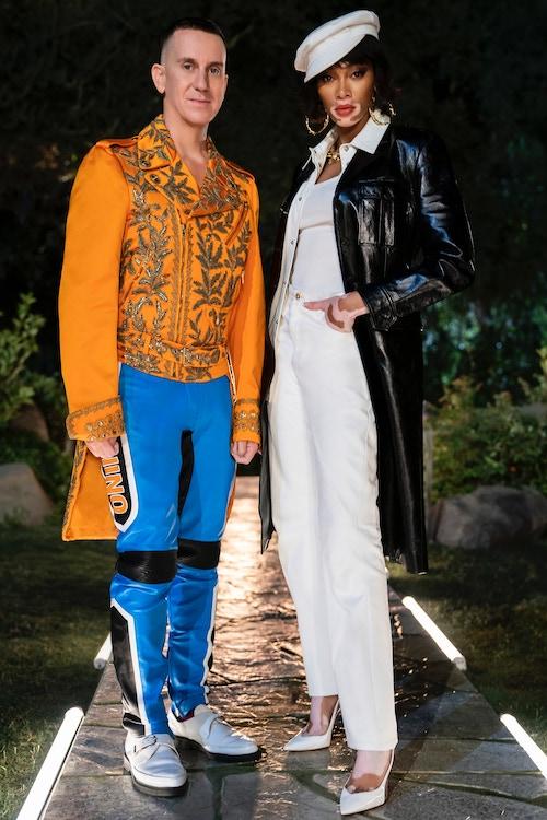 Making the Cut season 2's new judges are Jeremy Scott and Winnie Harlow
